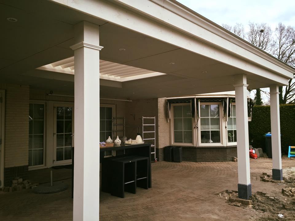 Klassieke houten veranda te gronau veranda twente for Houten veranda