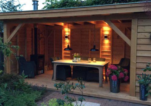 Douglas houten veranda archieven specialist in veranda s for Wat kost een veranda